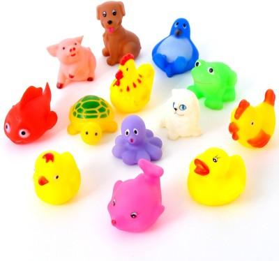Baby World Non Toxic Multicolor Animal Bath Toy