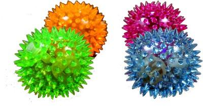 Fab5 Flashing Balls - Set of 4 Bath Toy