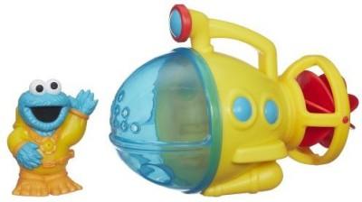 Natorytian Sesame Street Cookie Monster Submarine Bath Toy