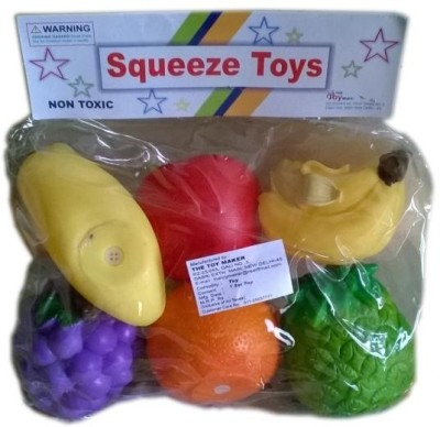 Rana Baby Toys Squeeze Fruits Bath Toy