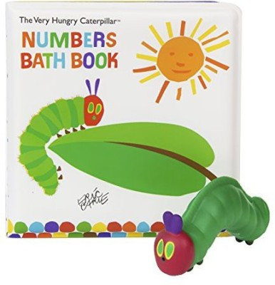 Kids Preferred Book With 5 Squirties Bath Gift Set, The Very Hungry Caterpillar Bath Toy