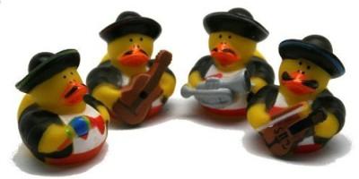 Fun Express Mariachi Band Rubber Ducks Bath Toy