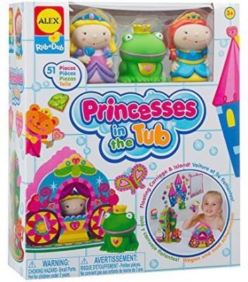 Alex Toys Rub a Dub Princesses in the Tub Bath Toy