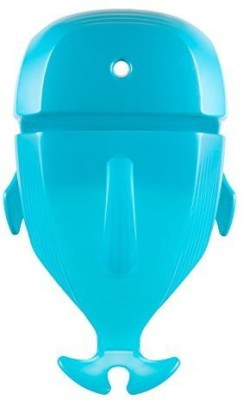 Zupishi Boon Whale Pod Drain and Storage Scoop,Blue Bath Toy