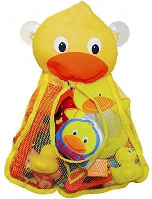 Kooky Kidz Momma Duck Organizer for Bathtub & Ideal Baby Gift for Tub Bath Toy