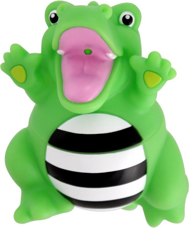 Sassy Stay Clean Squirts - Alligator Bath Toy(Green)