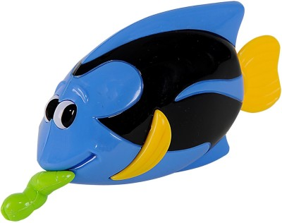 Simba World Of Toys - Pull String Sea Animal Black & Blue Bath Toy