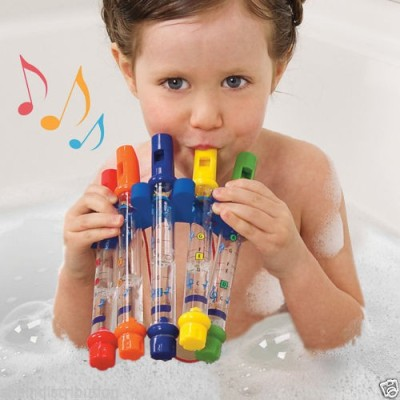 Talking Trends Kid Water Flutes Bath Toy