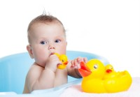 Futaba Duck Squeaky pack of 2 Bath Toy(Yellow)