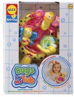 Alex Toys Rub a Dub Bugs in the Tub Bath Toy