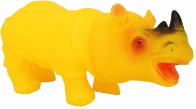 Ollington St. Collection Squeezy Toy Animal Rhino Bath Toy