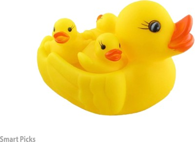 Smart Picks Ducky Baby Bath Squeeze Toy Bath Toy
