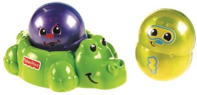 Fisher-Price Topzy Tumblers Tubtime Tumblers Bath Toy(Multicolor)