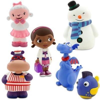 Disney Junior Doc Mcstuffins 6 Piece Bath Set Bath Toy