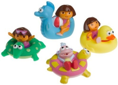 Munchkin Dora The Explorer Bath Squirters Bath Toy