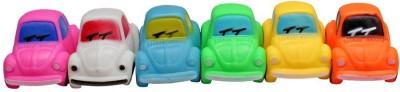 Kidzvilla Squeeze Car2258 Toy Pack 6 Bath Toy