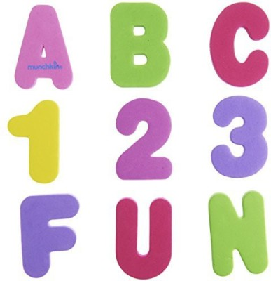 Munchkin 36 Bath Letters And Numbers Bath Toy