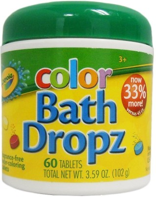 Crayola Play Visions Bath Dropz 3.59 oz Bath Toy