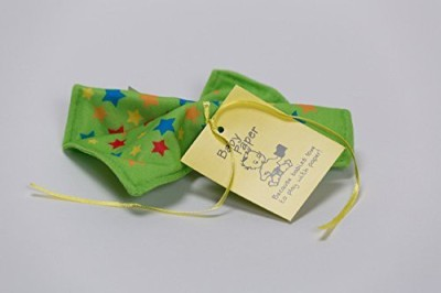 Baby Paper Crinkly Baby Toy - Green with Stars Bath Toy