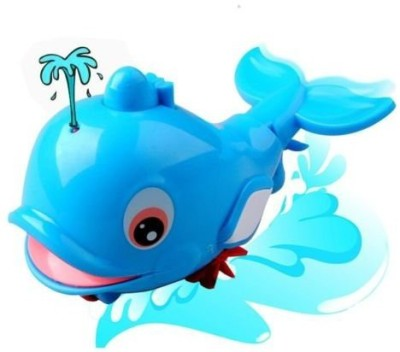 Fajiabao Animal Fun Swimming Dolphin BPA Free Water Squirter Bath Toy