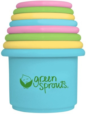 green sprouts Stacking Cups, 8 Count Bath Toy