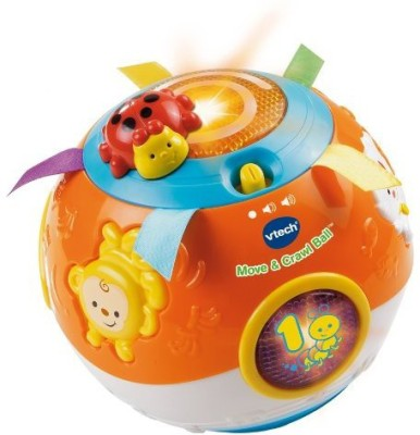 Vtech Move and Crawl Baby Ball Bath Toy