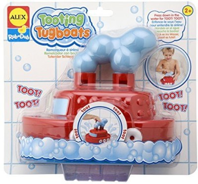 Alex Toys Rub a Dub Tooting Tugboat Bath Toy