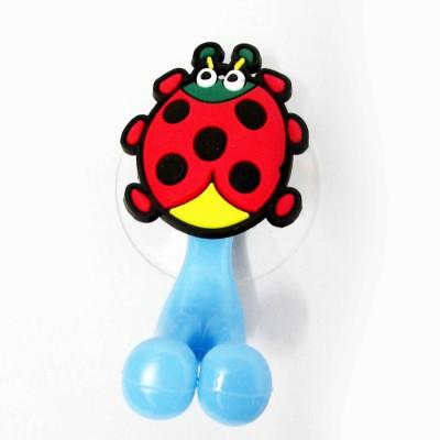 Buddyboo Red Lady Bug Tooth Brush Holder Bath Toy