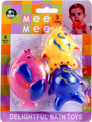 Mee Mee Fish Bath Toys - 3 pieces Bath Toy