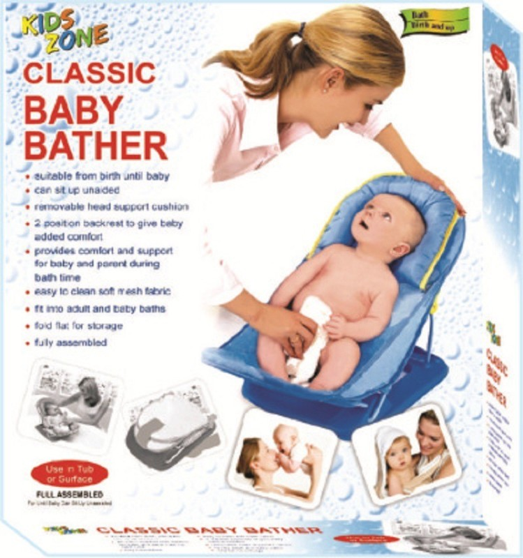 toys &games Classic Bather Baby Bath Seat(Blue)