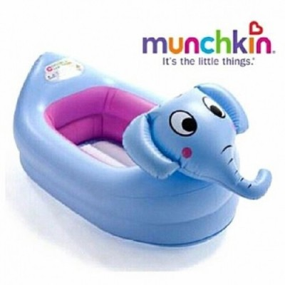 Munchkin Inflatable Safety Elephant Tub(79cm*48cm)