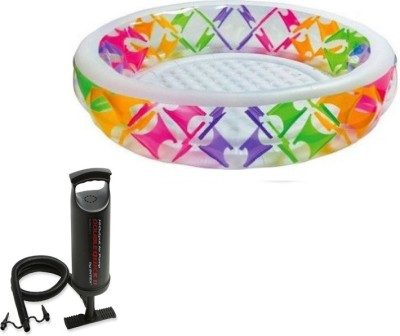 Intex Aadoo Round Self Pool Tub with Air Pump