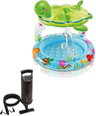 Intex Aadoo Turtle Pool Tub with Air Pump