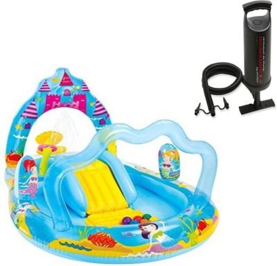 Intex Aadoo Mermaid Kingdom Pool Tub with Air Pump