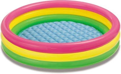 SIDHIVINAYAK ENTERPRISES Sunset Glow 3 Feet Inflatable Pool(Multicolor)
