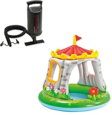 Intex Aadoo Royal Princess Castle Pool Tub with Air Pump