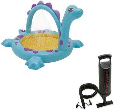 Intex Aadoo Giraff Ride-On Pool Tub with Air Pump