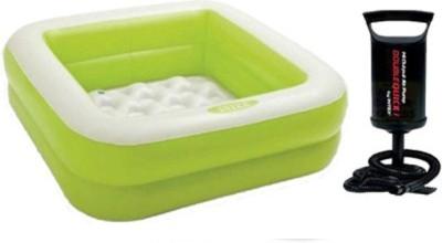 Intex Aadoo 3 Feet Squre Kids Bath Tub with Air Pump