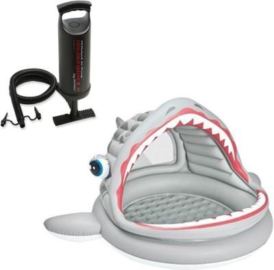 Intex Aadoo Open Mouth Fish Pool Tub with Air Pump