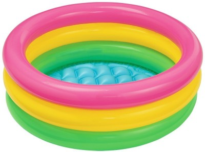 asa products mini pool Baby Bath Seat(Multicolor)