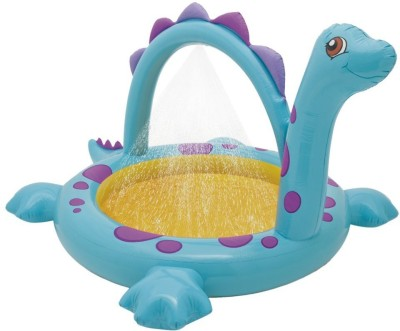 KASCN GIRRAFF INTEX RIDE ON AND BATHING TUB FOR ALL KIDS