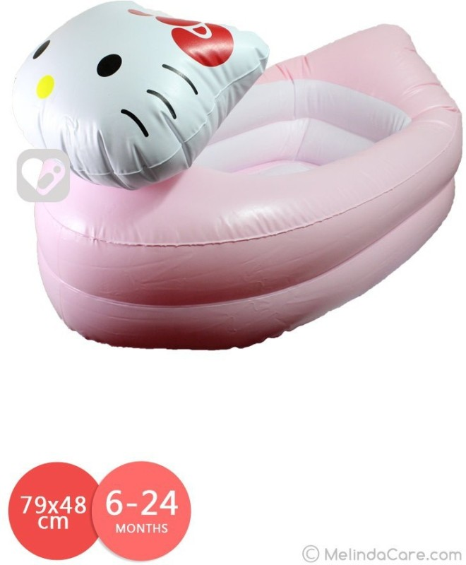 Munchkin Inflatable Safety Hello kittY Tub(Pink)