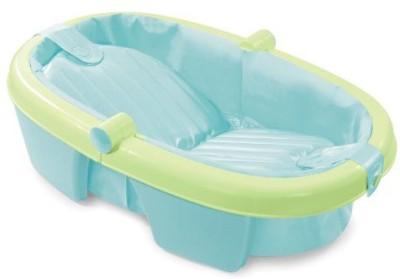 Summer Infant Fold Away Baby Bath Green