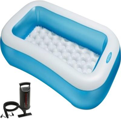 Intex Aadoo 5 Feet Ract Kids Bath Tub with Air Pump