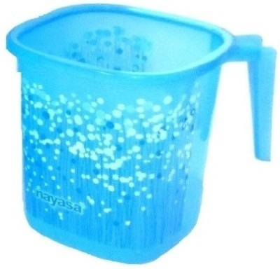 nayasa Polypropylene Bath Mug(Blue 1.5)