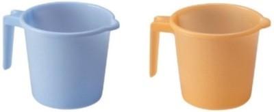 S.B.Enterprises Plastic Bath Mug(Multicolor 1)