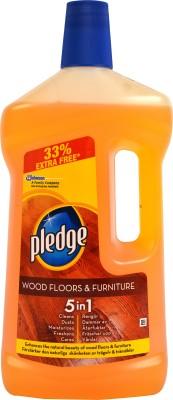 Pledge 5in1Wooden Floor Bathroom Floor Cleaner(1 L, Pack of 1)