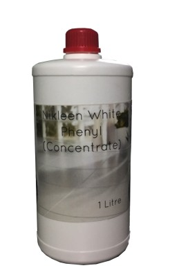 Nikleen White Phenyl Concentrate Bathroom Floor Cleaner(1 L)