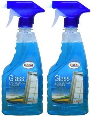 RSEAL GLASS CLEANER PACK OF 2 Bathroom Floor Cleaner(1000 ml, Pack of 2)