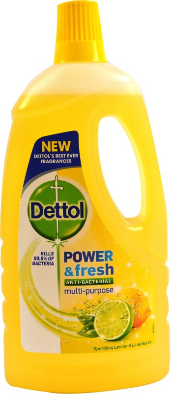 Dettol Power & Fresh Bathroom Floor Cleaner(1 L, Pack of 1)